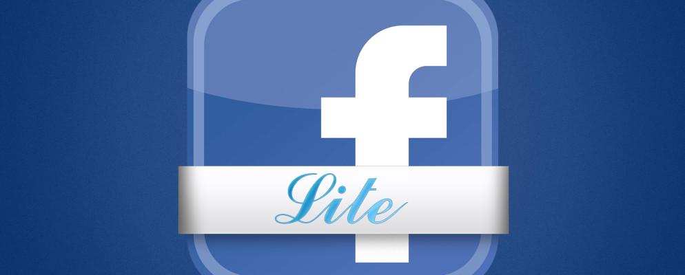 ¿Qué es Facebook Lite y puede reemplazar a Facebook?