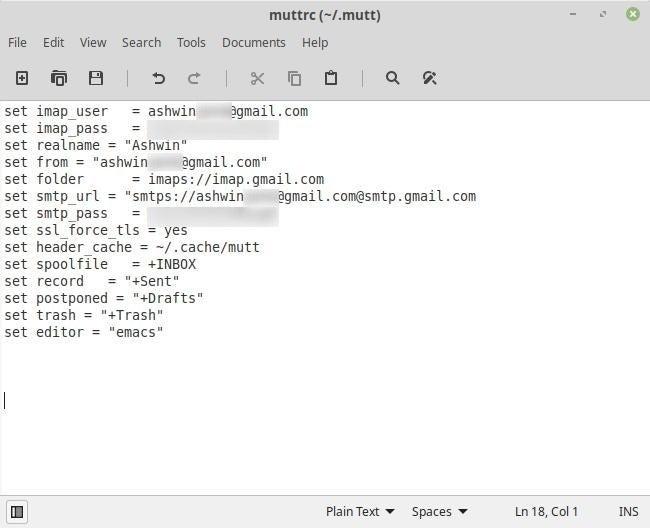 Mutt es una aplicación de correo electrónico de línea de comandos para Linux y aquí está cómo configurarla