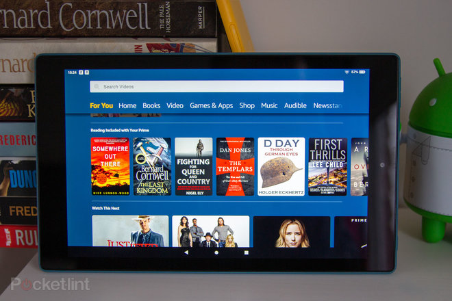 fire hd 10 revierw
