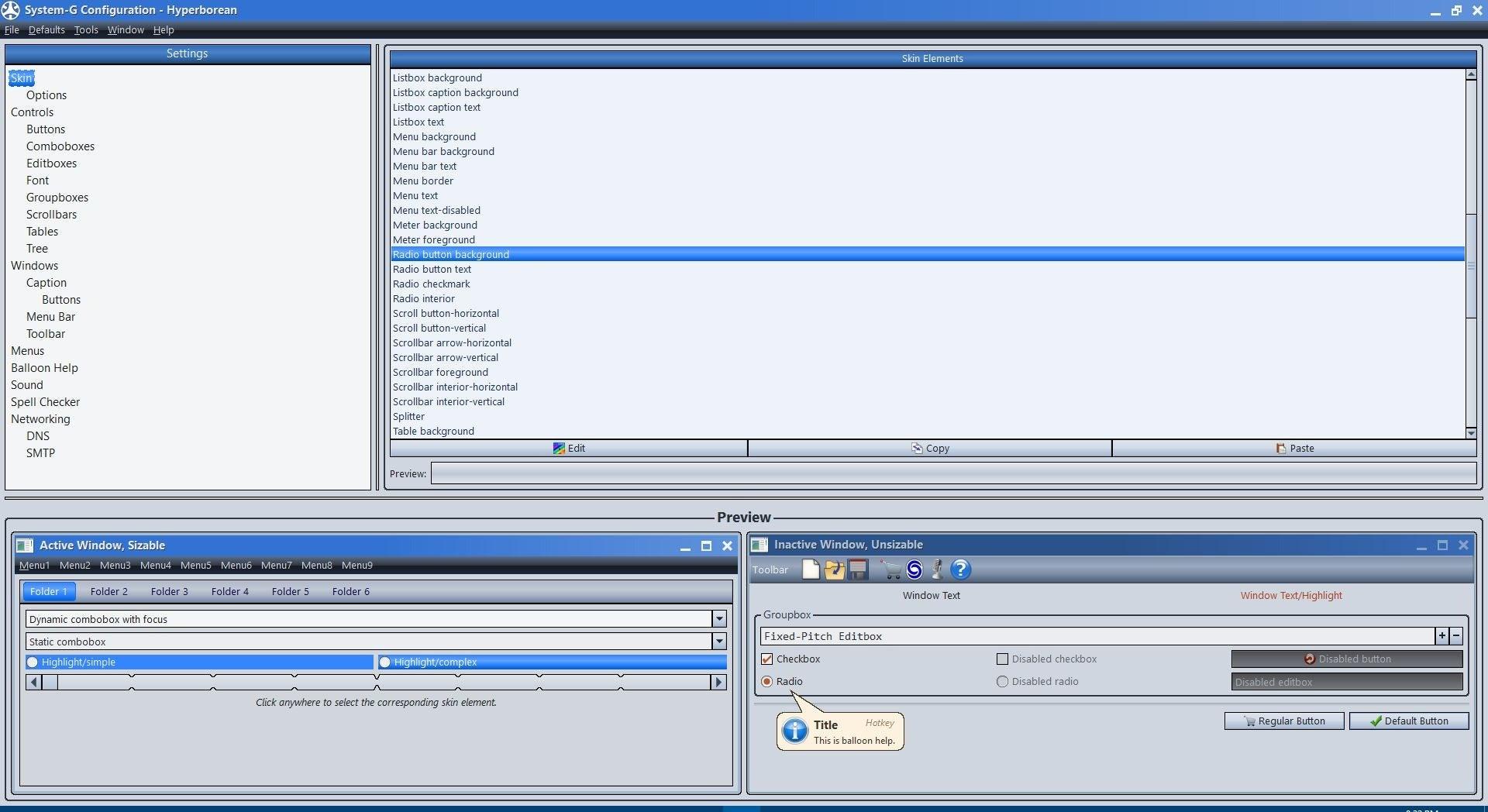 Editor de la interfaz de DocPad