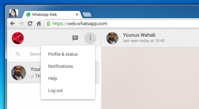 Web de WhatsApp