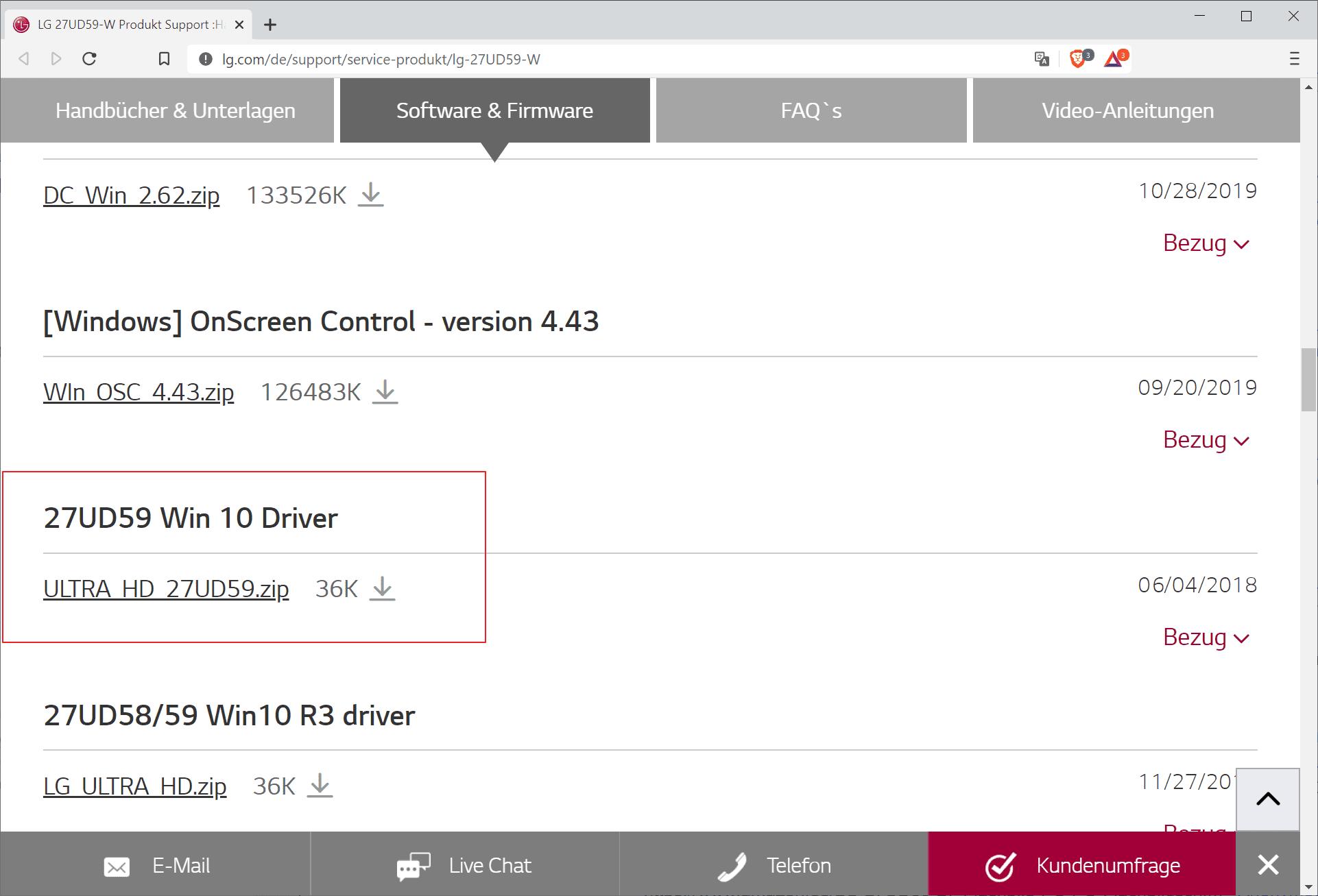 descargar el monitor del controlador