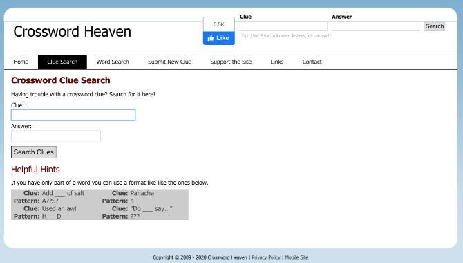 Crossword Heaven es una de las mejores aplicaciones gratuitas para resolver crucigramas en línea