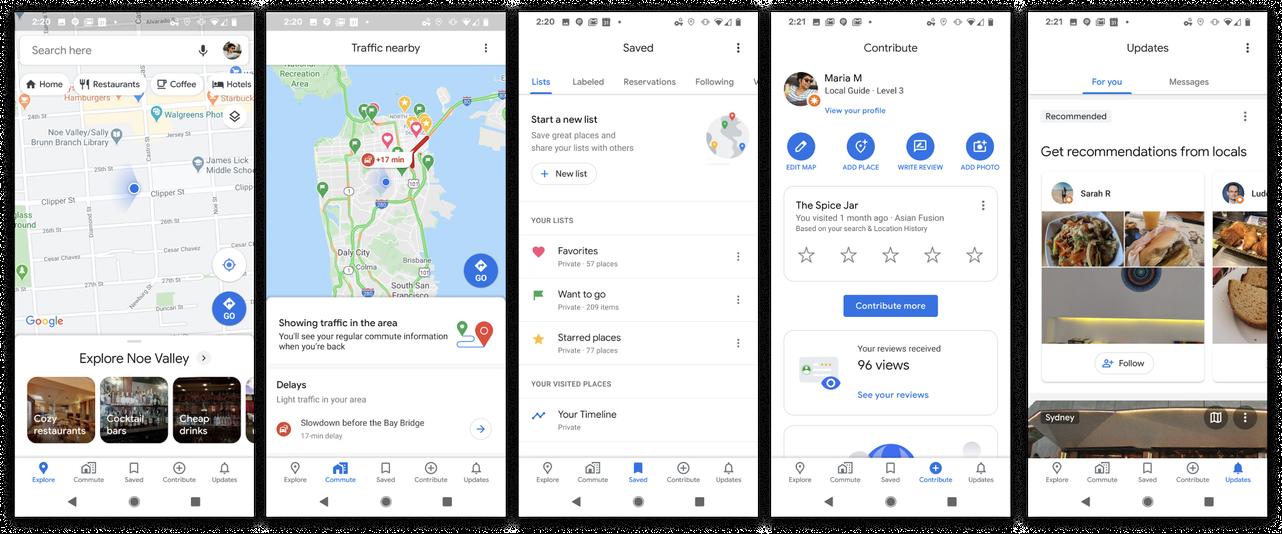 Google Maps tiene un nuevo icono, características de tránsito y más para el 15º cumpleaños