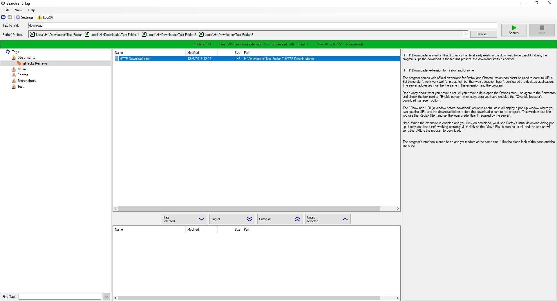 Etiquetado para Windows - vista previa