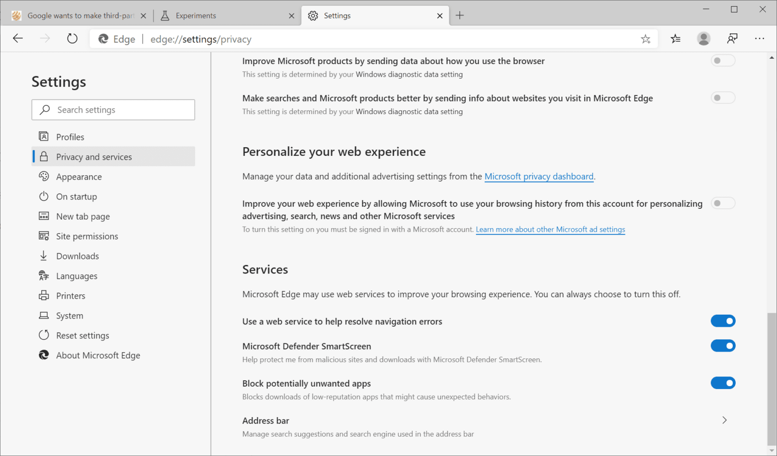 You can now block potentially unwanted apps in Microsoft Edge