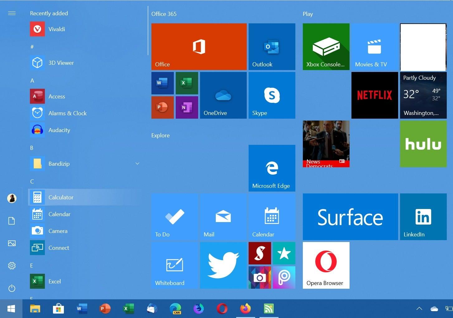 windows 10 aplicaciones sugeridas