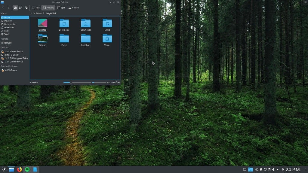 Best Linux Distro for Windows 7 Refugees: Manjaro KDE