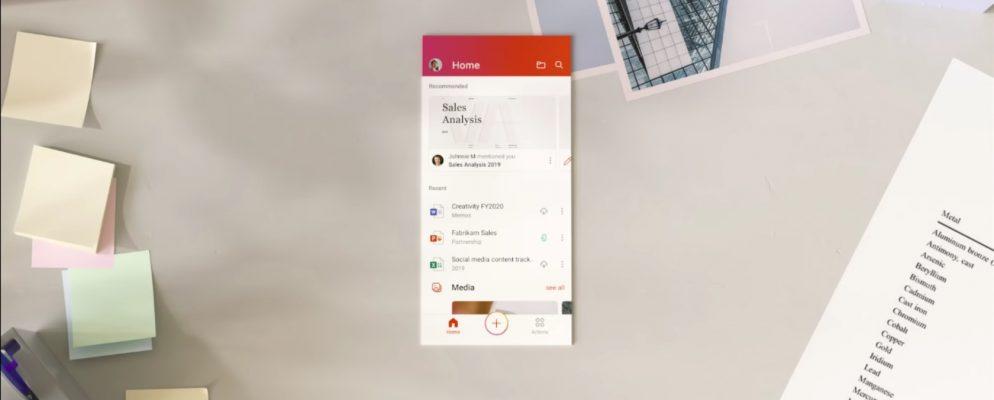 Microsoft lanza una nueva aplicación de Office para Android e iOS