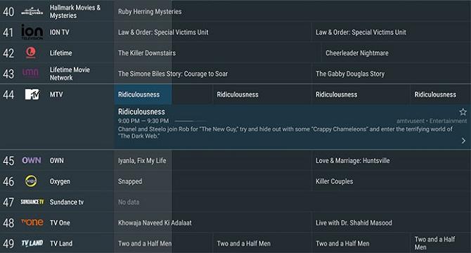lista de canales tivimate
