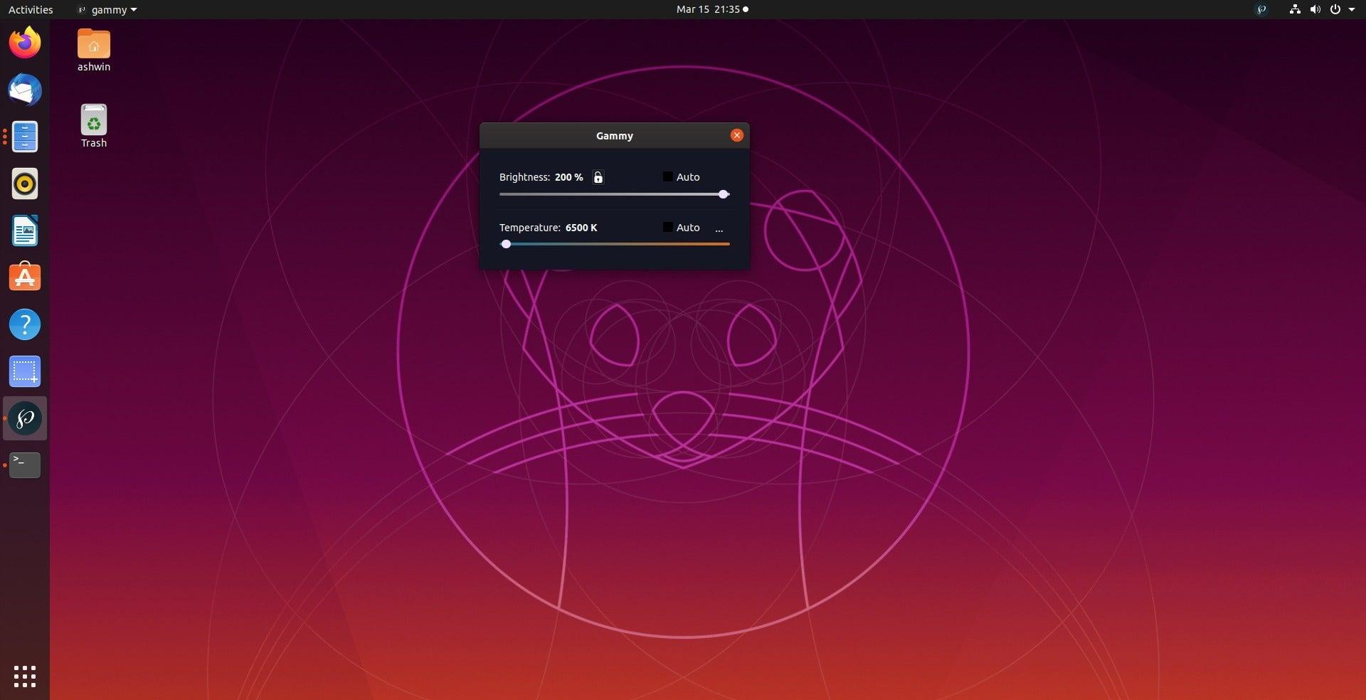 Gammy Linux 200 por ciento