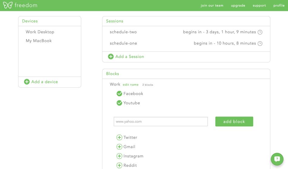 Es súper personalizable si quieres crear diferentes listas para días específicos.