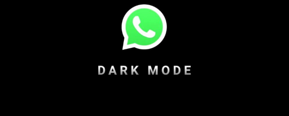 Ahora puedes activar el modo oscuro en WhatsApp
