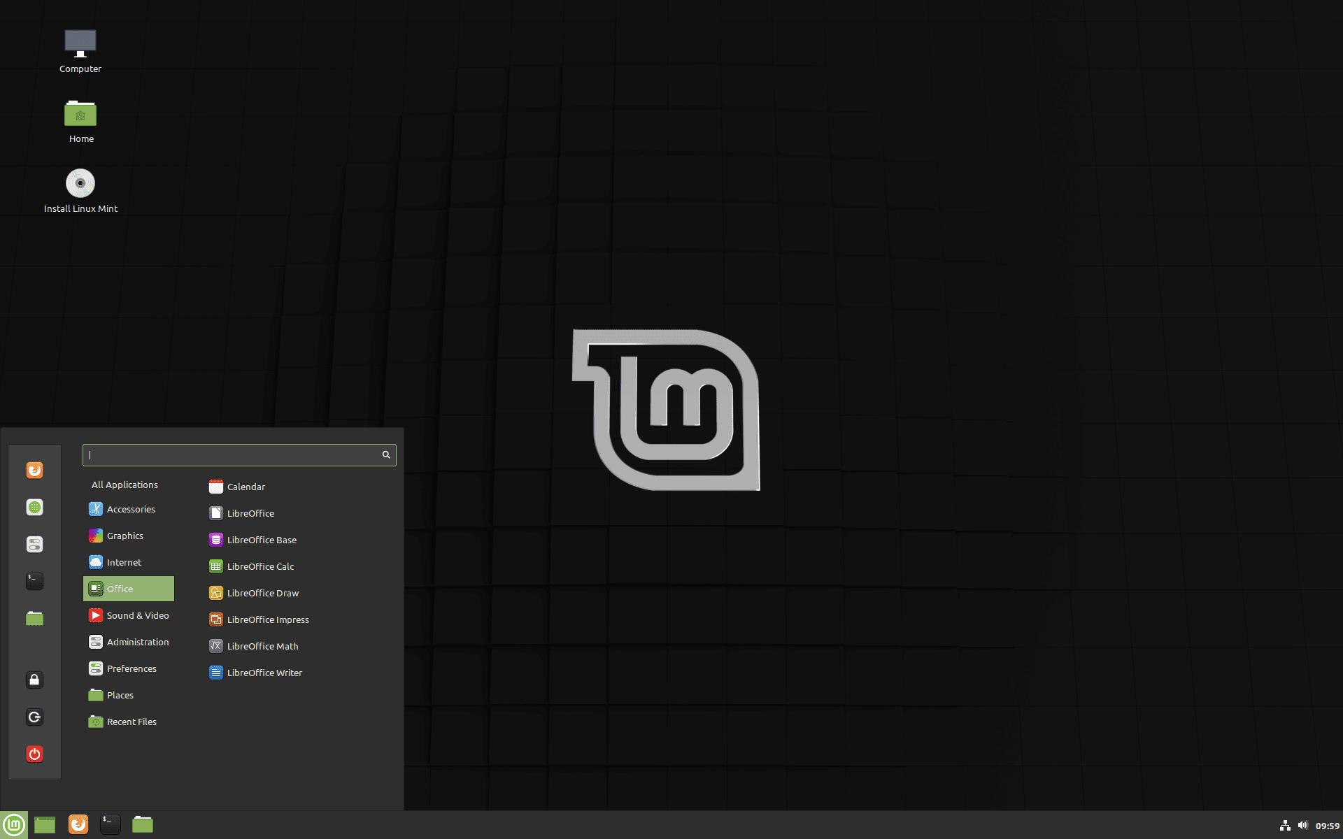 edición de linux mint debian
