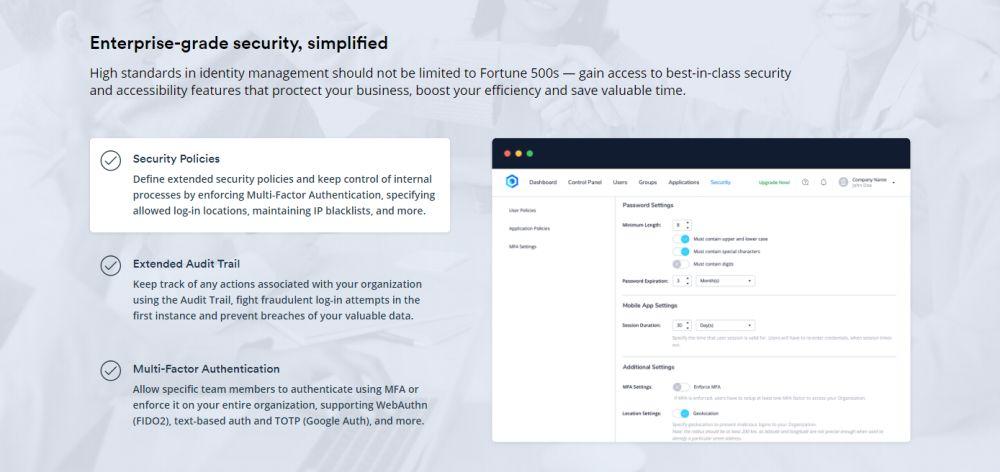 Seguridad de nivel empresarial, simplificada