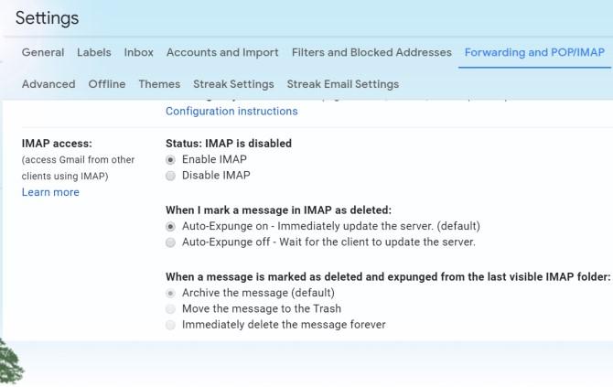 Copia de seguridad de los mensajes de Android Gmail
