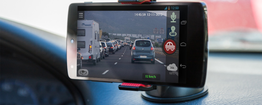 Las 4 mejores aplicaciones de Dash Cam para Android, comparadas