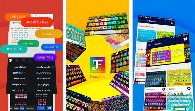 FancyKey - Mejor Teclado Android