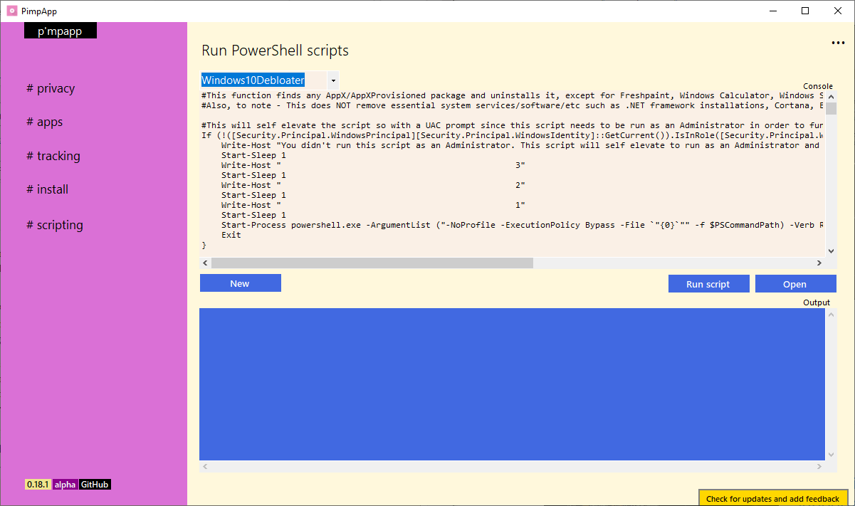windows 10 guiones de privacidad
