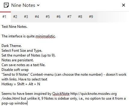 Nueve Notas interfaz 2