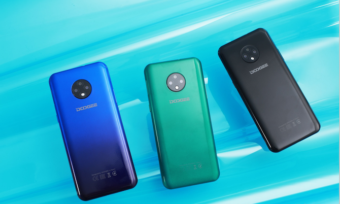 El smartphone DOOGEE X95 en múltiples colores