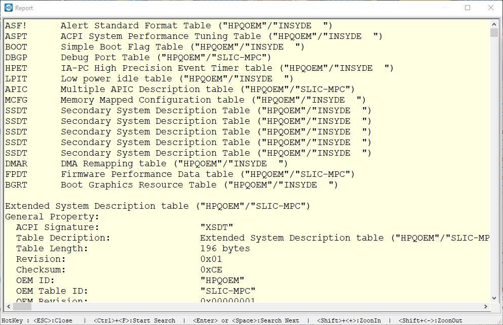 Utilidad de lectura y escritura de hardware - Resumen