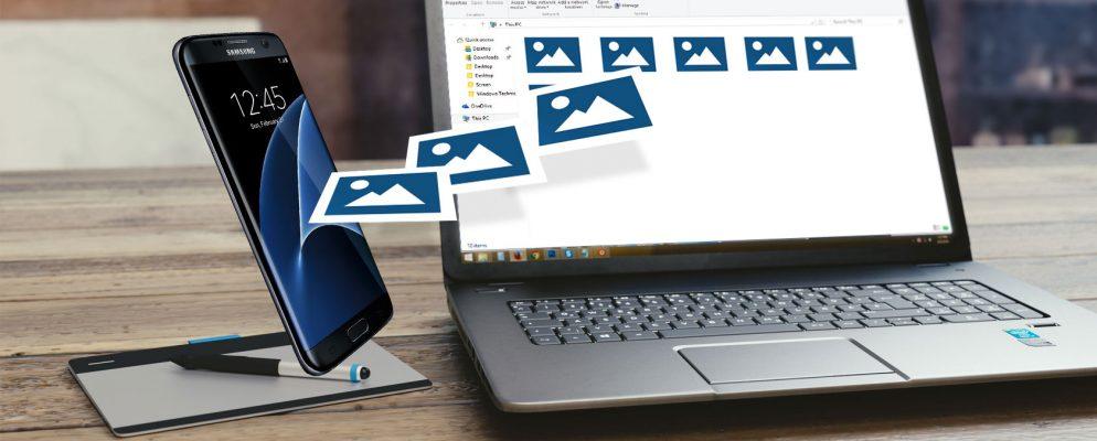 Cómo transferir fotos de su teléfono Samsung a su PC