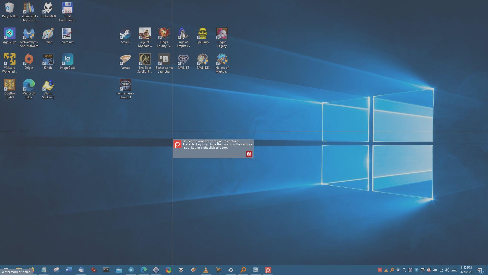 Captura capturas de pantalla, tomas retardadas, instantáneas en movimiento, y edítalas con Screenpresso