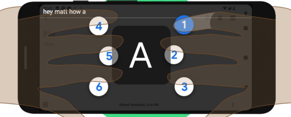 Google lanza un teclado braille para Android