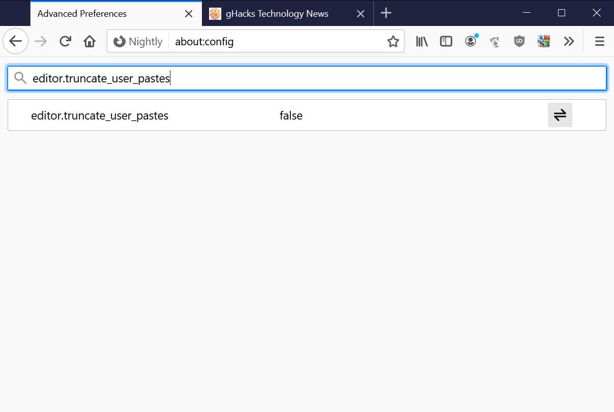 El editor de Firefox trunca las pastas de los usuarios