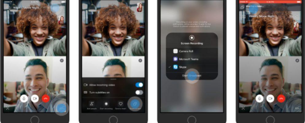 Cómo compartir tu pantalla en el móvil usando Skype