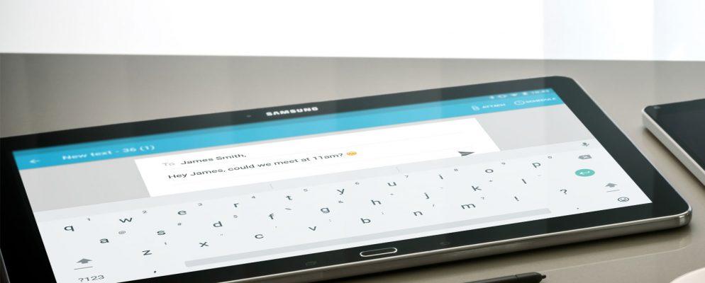 Cómo enviar y recibir mensajes de texto en las tabletas Android