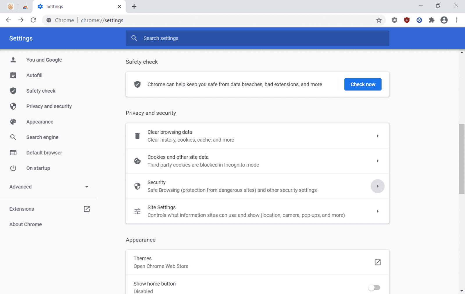 Chrome 83: Google starts rollout of redesigned privacy and security settings