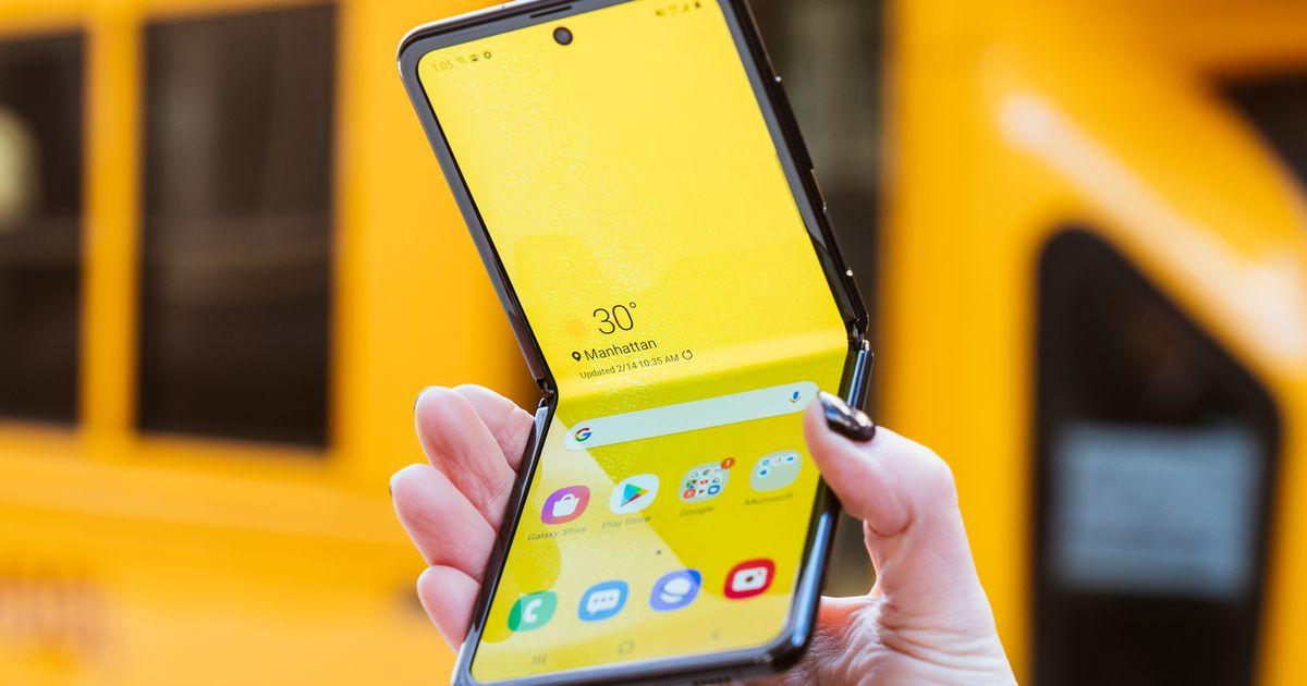 El Samsung Galaxy Z Flip tiene una gran característica exclusiva en YouTube...