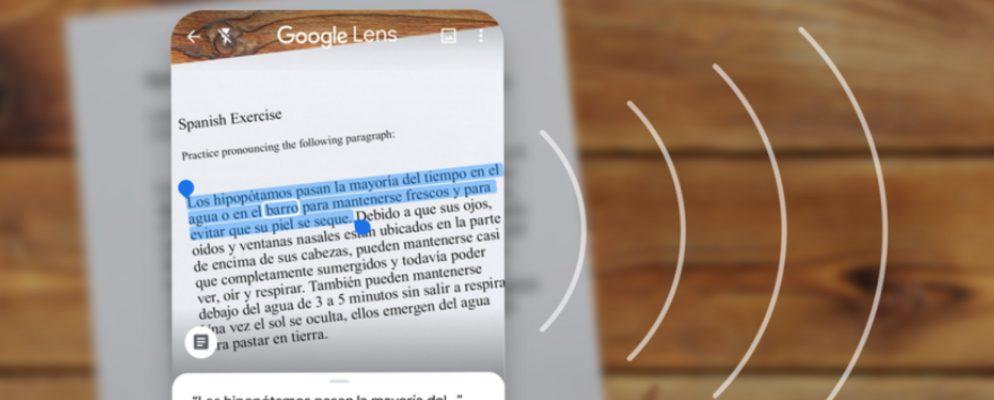 La lente de Google ahora puede copiar y pegar notas escritas a mano
