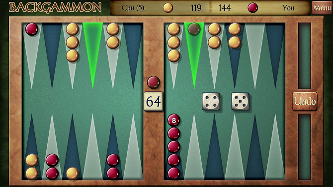 androide de backgammon