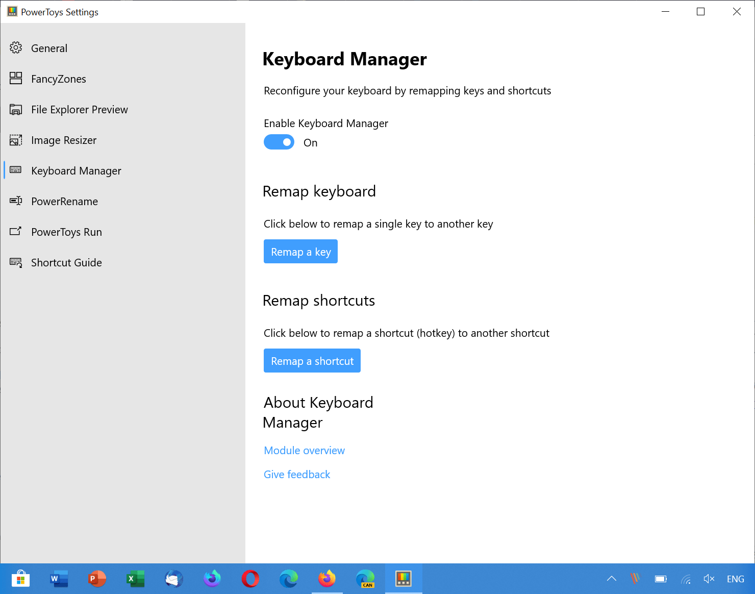 Microsoft PowerToys 0.18 with Keyboard Manager and Application Launcher released