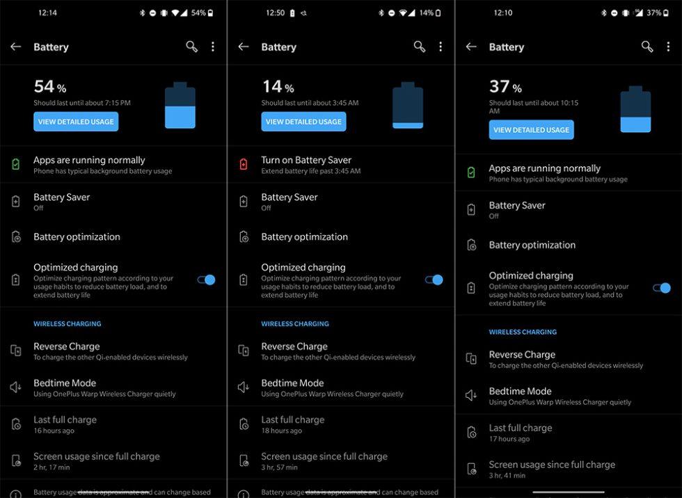 Duración de la batería del OnePlus 8 Pro