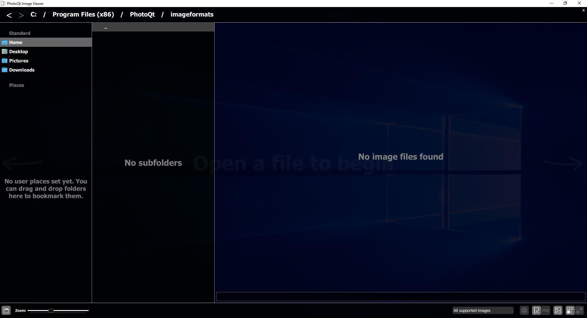 PhotoQt es un visor de imágenes fluidas para Windows y Linux