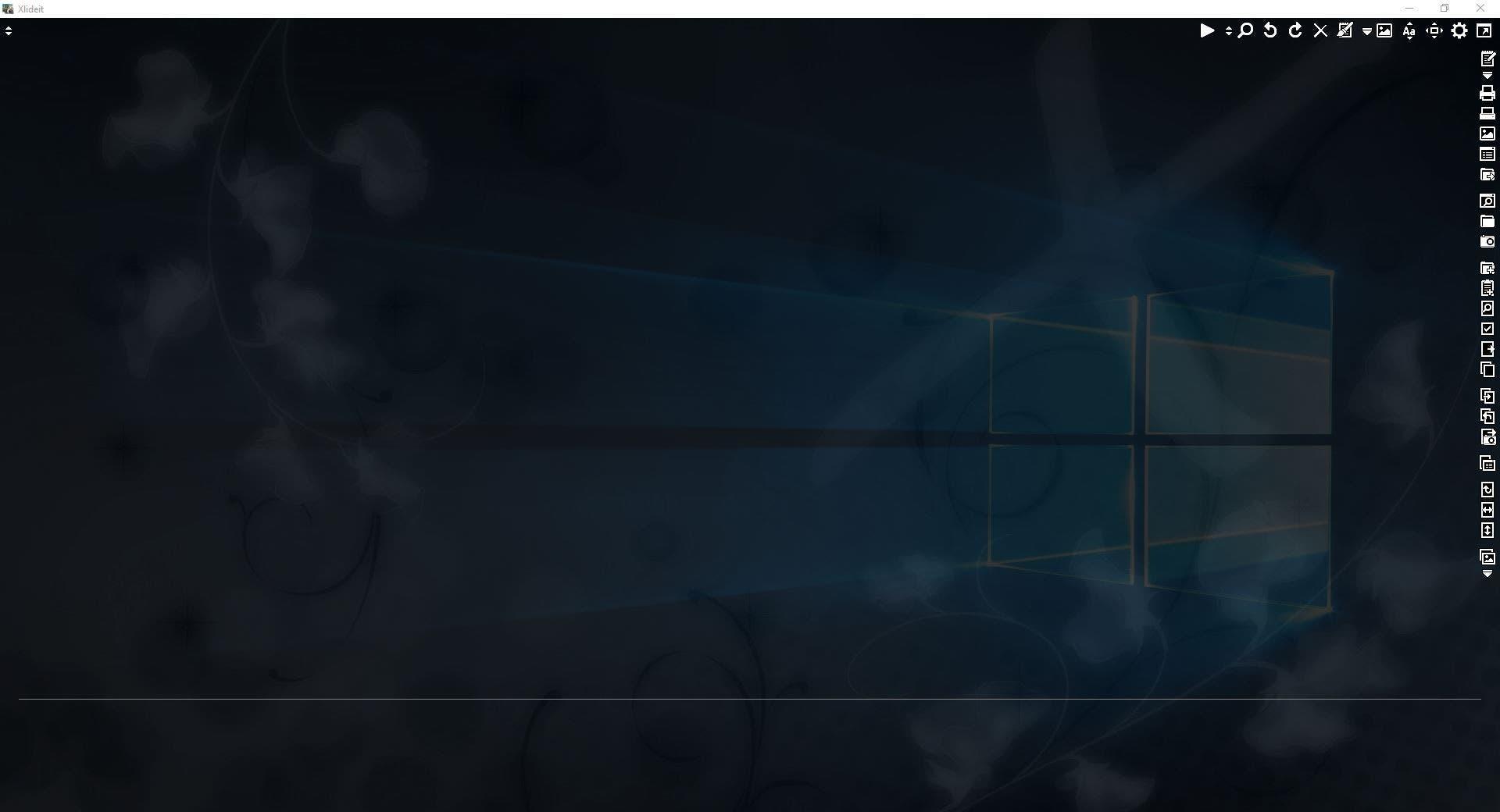 Xlideit Image Viewer es un visor de fotos, editor, reproductor de vídeo y música de código abierto