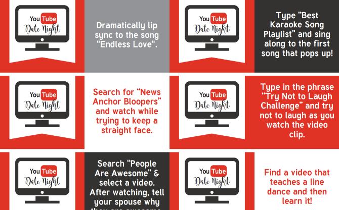 La guía de citas gratis de YouTube es una forma romántica y barata de conectar con tu pareja.