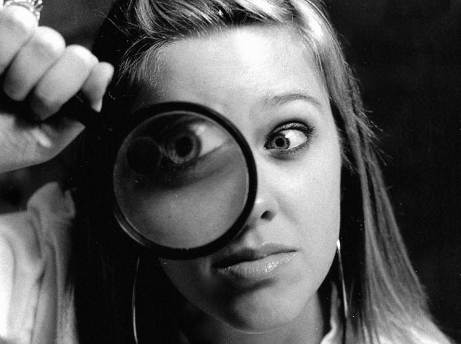 Espía de ojos