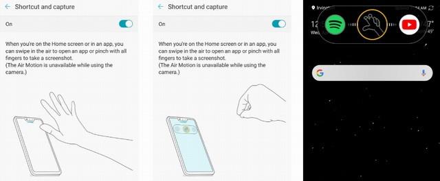 screenshot de LG G8