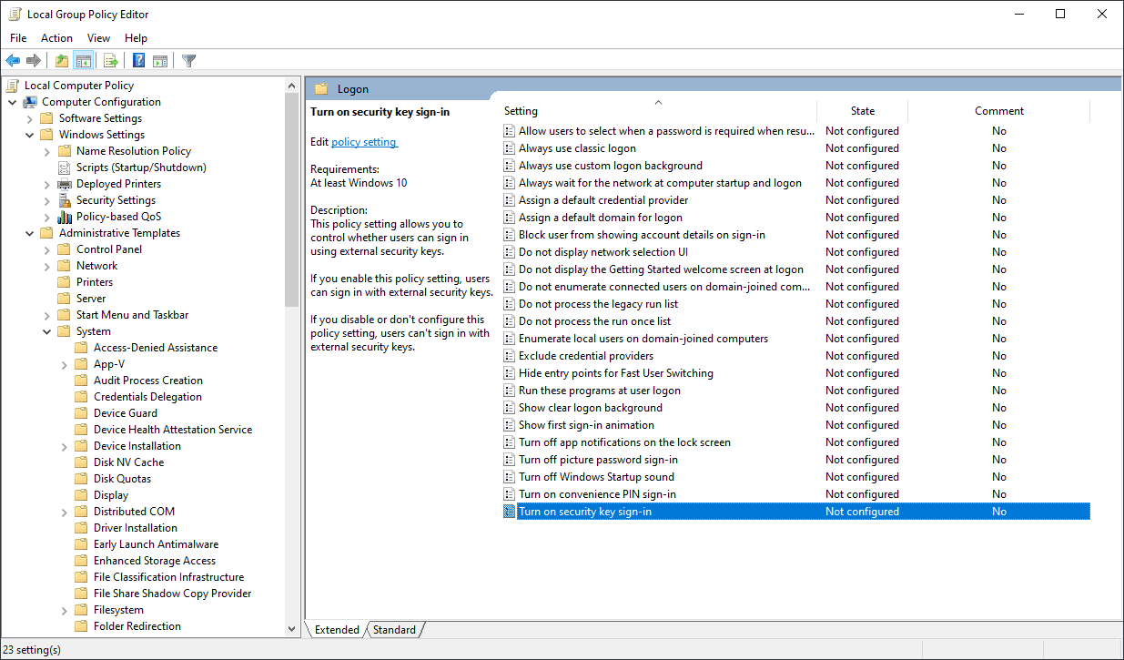 Administrative Templates (admx) for Windows 10 May 2020 Update released
