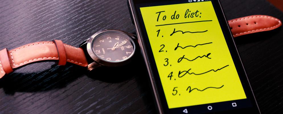 Las 10 mejores aplicaciones de Android para gestionar las listas de tareas pendientes