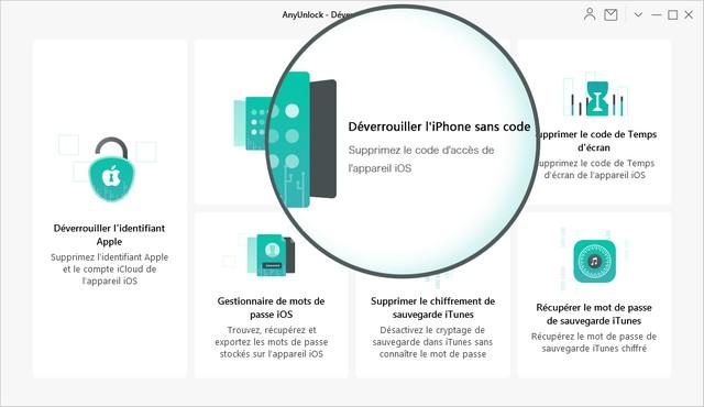 Desbloquear el iPhone sin código