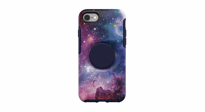 Nutria + Pop Symmetry Series Case Blue Nebula