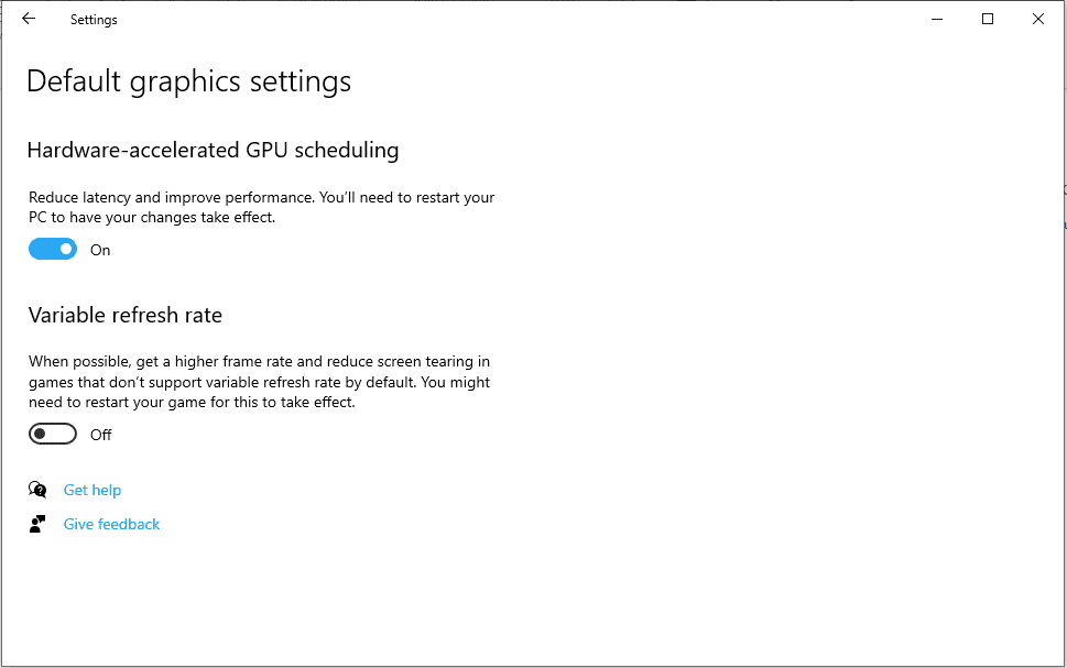 Why you may want to enable Hardware Accelerated GPU Scheduling in Windows 10