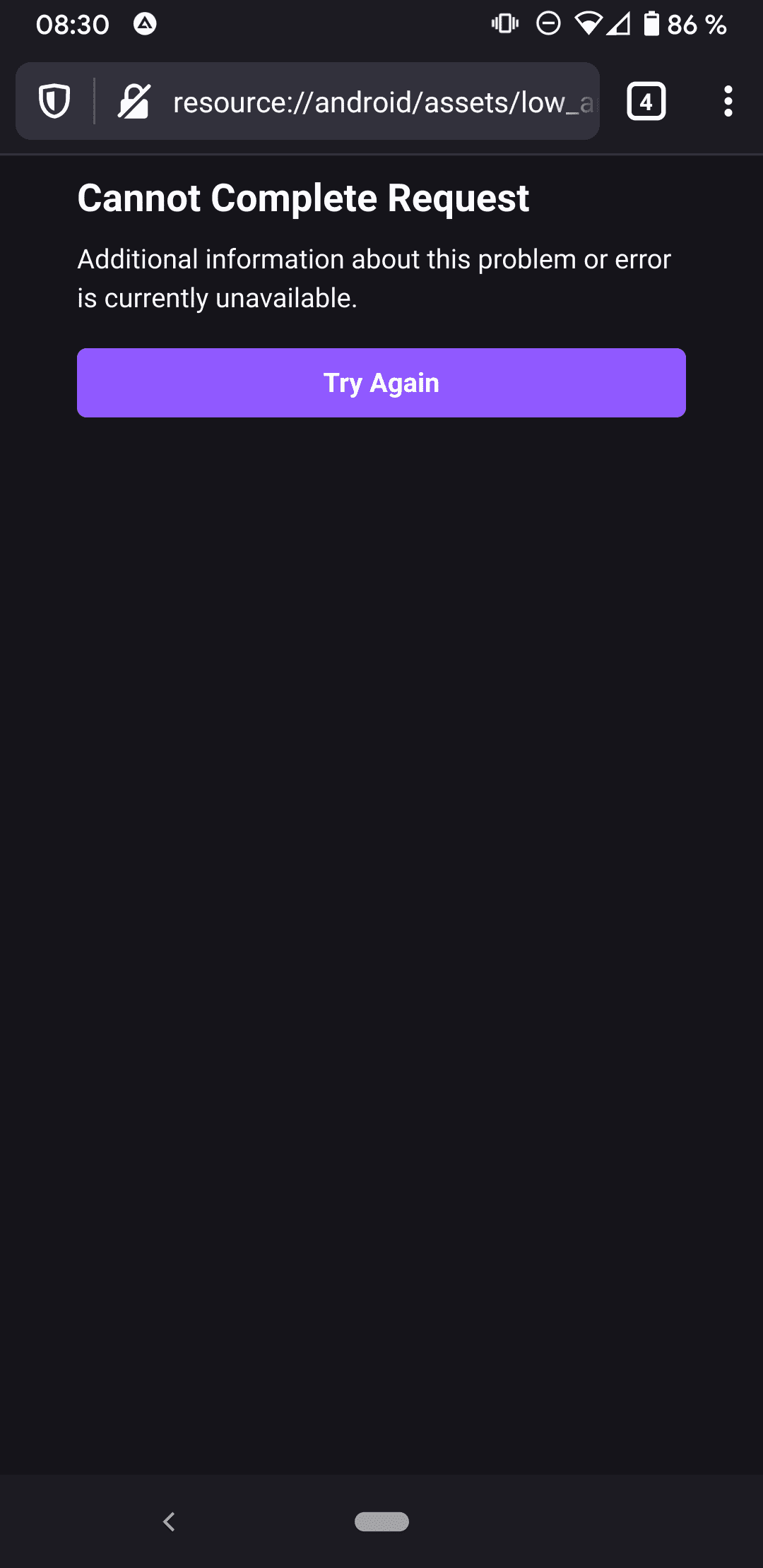 firefox android no sobre config