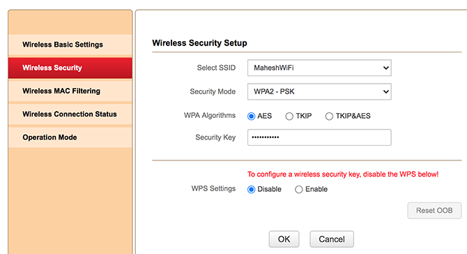 revelar la contraseña del wifi del router